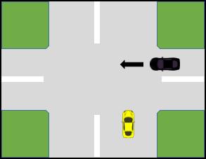 کتاب آیین نامه جدید - حق تقدم عبور برای وسیله نقیله سمت راست
