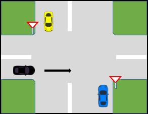 کتاب آیین نامه جدید - حق تقدم عبور برای خودرویی که در مسیر اصلی حرکت می کند